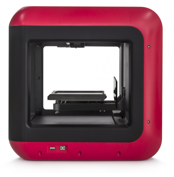 Flashforge Finder 3D-printer voor PLA filament zijkant