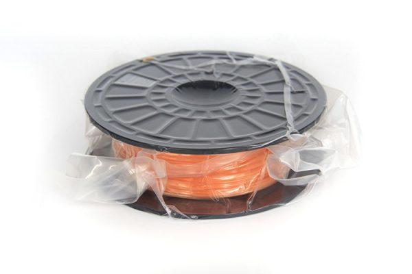 PLA filament voor Flashforge 3D-printers, 1.75 mm, Oranje, 0.6 kg verpakt