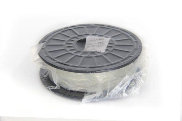 PLA filament voor Flashforge 3D-printers, 1.75 mm, Transparant, 0.6 kg verpakt
