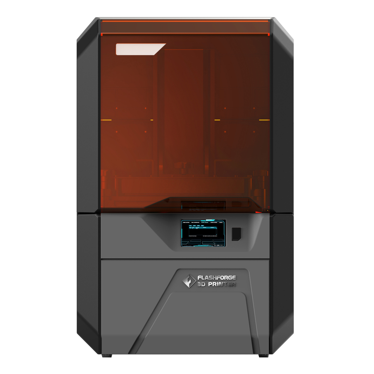 Flashforge Hunter DLP 3D-printer voorkant