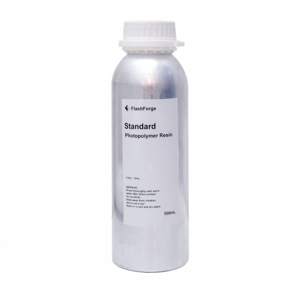 Flashforge photopolymer resin gray 500ml