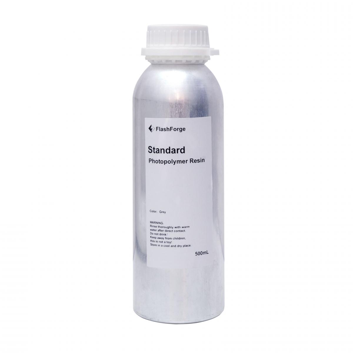 Flashforge photopolymer resin gray 500ml