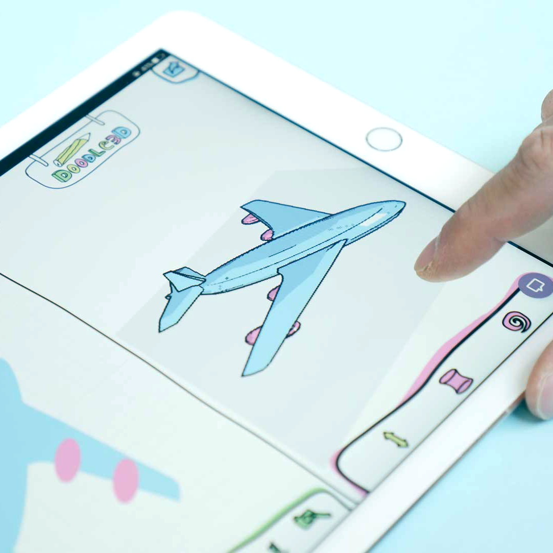 Doodle3D Transform ontwerp vliegtuig