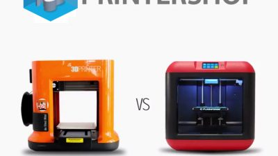 XYZprinting Da Vinci Mini vs Flashforge Finder 3D-printer