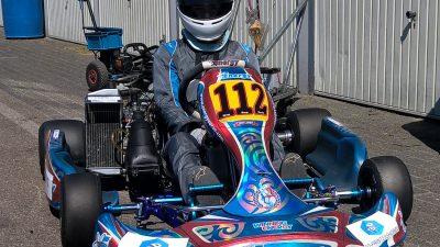 3D-printershop sponsort Calvin de Groot Karting