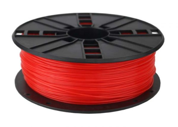 ABS Filament  Fluor Rood