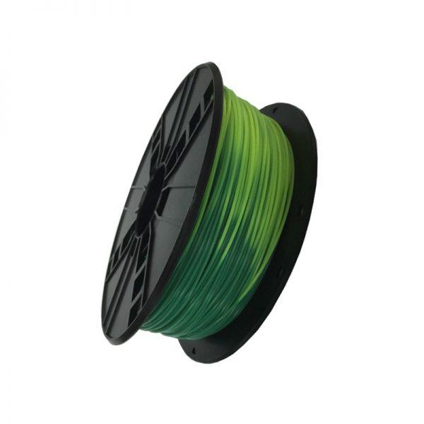 ABS filament Blauw/Groen naar Geel/Groen 3DP-ABS1.75-01-BGYG