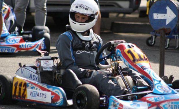 Clavin de Groot kampioen karting
