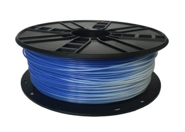 PLA Blauw naar Wit 1.75 mm