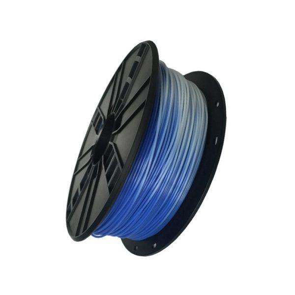 PLA filament Blauw naar Wit 3DP-PLA1.75-01-BW
