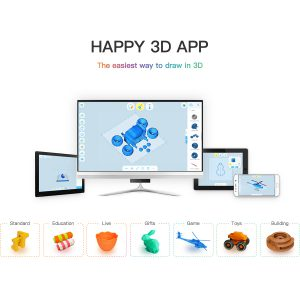 Flashforge Happy 3D App downloaden