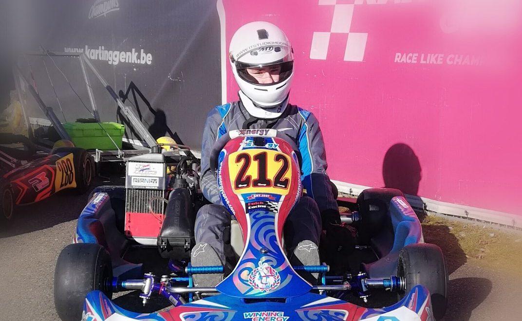 Calvin de Groot karting 2018