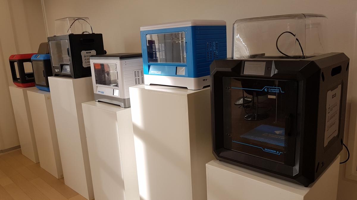 Goedkoop Flashforge 3D-printers bij 3D-printershop