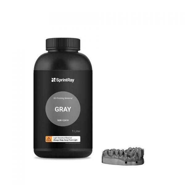 Goedkoop SprintRay Gray Resin (ST-3DP-GRR-12414) kopen bij 3D-printershop
