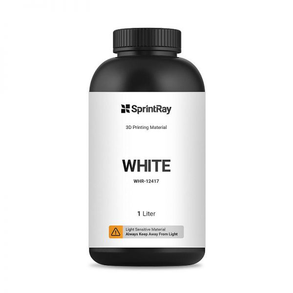 SprintRay Resin white - ST-3DP-W12420