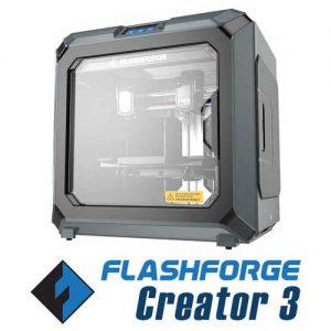 Flashforge Creator 3 3D-printershop