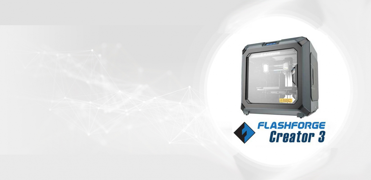 Flashforge Creator 3 3D-printer