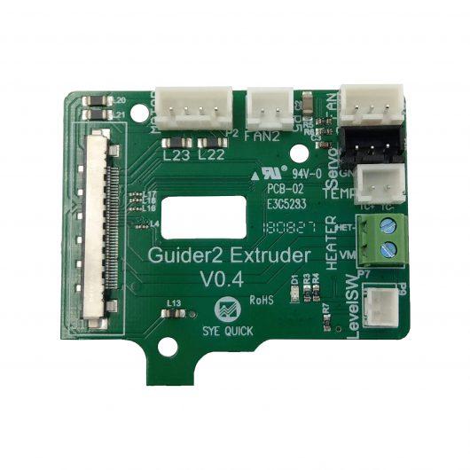 Extruder Board Flashforge Guider 2(S) - 30.001160002