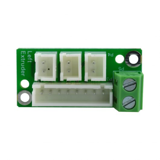 Left Extruder Board Flashforge Creator Pro 2 - 30.001561003