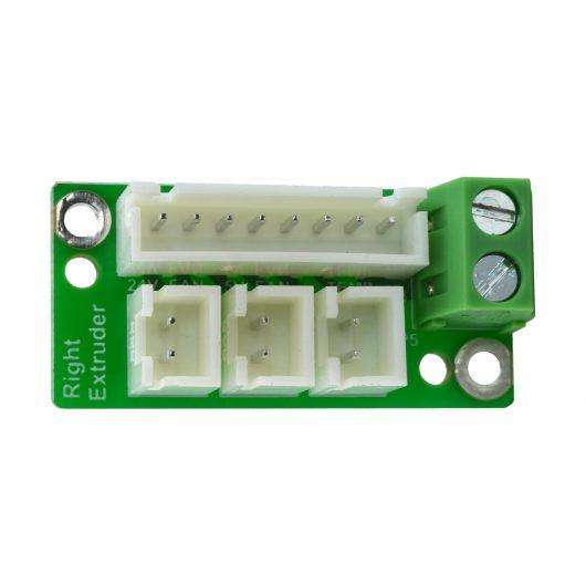 Right Extruder Board Flashforge Creator Pro 2 - 30.001560003