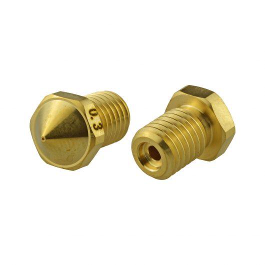 Brass Nozzle 0.3 mm Flashforge Guider 2S (high temperature extruder)