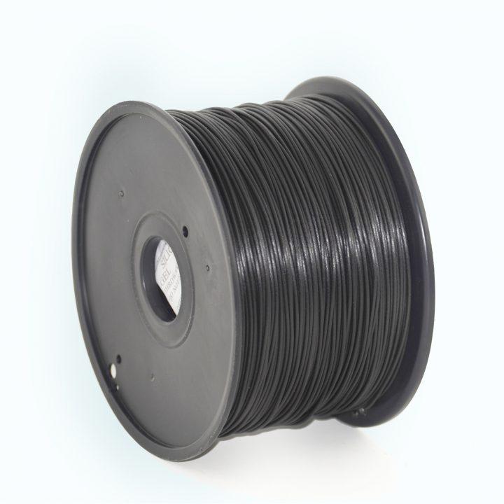PLA filament Zwart, 1.75 mm, 200 gr